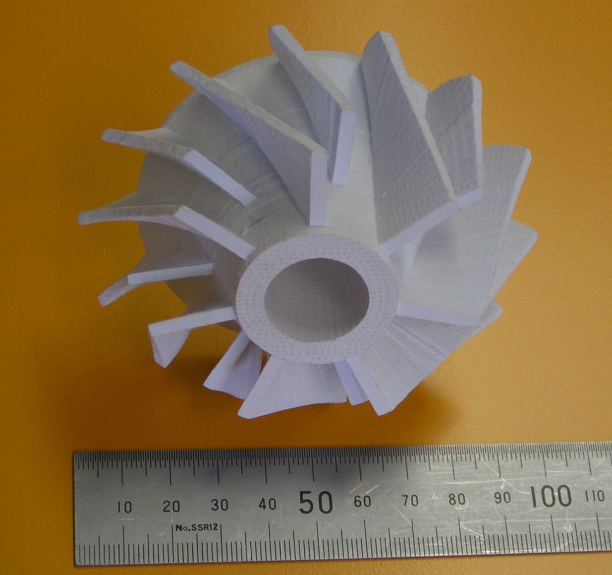 Mcor Matrix Built Impeller
